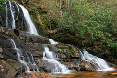 Laurel Falls In The Smoky Mountains NP Royalty Free Stock Photos