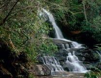 Laurel Falls, Nationalpark Great Smoky Mountains, Tennessee stockbild