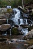 Laurel Falls Nationalparks Great Smoky Mountains stockfotografie
