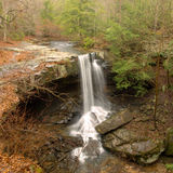 Laurel Falls--Savage Gulf SNA Beersheba Springs, TN Royalty Free Stock Photo