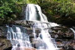 Laurel Falls. In Smokey Mountains National Park royalty free stock photo