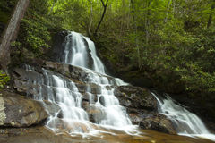Laurel Falls - Smoky Mountains Stock Image