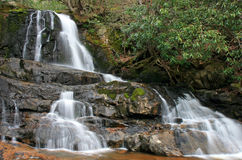 Laurel Falls in the Smoky Mountains NP Stock Image