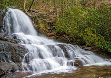 Laurel Falls in Smoky Mountains Royalty Free Stock Photos