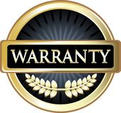Or Laurel Label Medal Icon de garantie de garantie illustration de vecteur