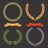 Laurel Leaf Wreath Royalty Free Stock Image