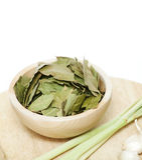 Laurel leafs Royalty Free Stock Image