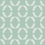 Laurel Pattern inconsútil Foto de archivo libre de regalías