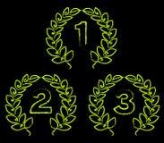 Laurel wreath Stock Images