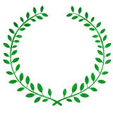 Laurel wreath Stock Photos