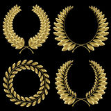 Laurel wreath Royalty Free Stock Photo