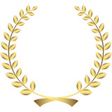 Or Laurel Wreath illustration stock