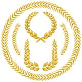 Laurel wreath. On white background Stock Image