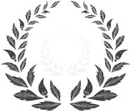 Laurel wreath. award.  Royalty Free Stock Photography