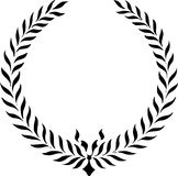 Classic Laurel Wreath/eps Stock Images