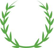 Laurel Wreath Royalty Free Stock Image