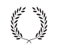 Laurel Wreath Icon Design ilustração stock