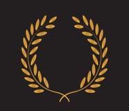 Laurel Wreath Icon Design Photo stock
