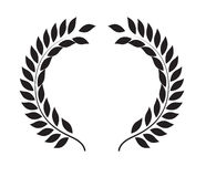 Laurel Wreath Icon Design Images libres de droits