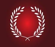 Laurel Wreath Icon Design ilustração do vetor