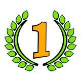 Laurel wreath icon, icon cartoon Stock Photos