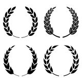 Laurel wreath icon Royalty Free Stock Images