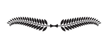 Laurel wreath icon royalty free illustration