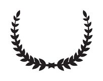 Laurel wreath icon stock illustration