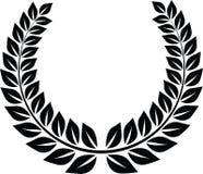 Laurel wreath. Illustration victory sign Royalty Free Stock Image