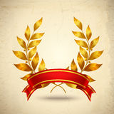 Laurel Wreath Realistic Stock Photography