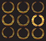Laurel wreath. Stock Image