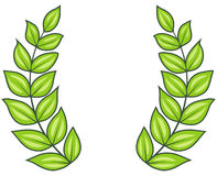 Laurel Wreath (Vector) Stock Images