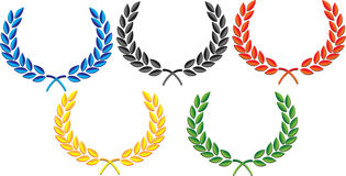 Laurel wreath vector stock photography