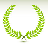 Laurel wreath. Vector illustration background stock illustration