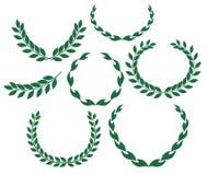 Laurel Wreath. Vector illustration (EPS 10 Royalty Free Stock Photo
