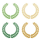 Laurel wreath. Vector illustration. Stock Images