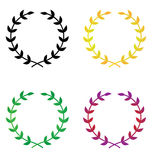 Laurel Wreaths Stock Images