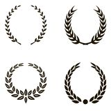 Laurel Wreaths Imagem de Stock Royalty Free