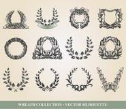 Laurel Wreaths Arkivbild