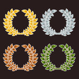 Laurel Wreaths Fotografia Stock Libera da Diritti