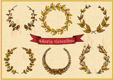 Laurel Wreaths Royaltyfria Foton