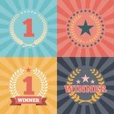 Laurel Wreaths Awards ilustração stock