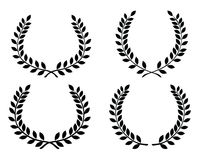 Laurel wreaths 4 Royalty Free Stock Photo