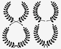 Laurel wreaths Royalty Free Stock Photo