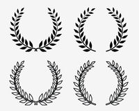 Laurel wreaths 2 Stock Photo