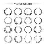 Laurel Wreaths Collection Photos stock