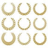 Laurel wreaths 1 Stock Photography
