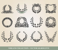 Laurel wreaths Stock Photography