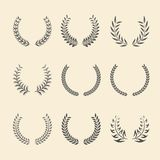 Laurel Wreaths. Royalty Free Stock Photography