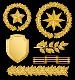 Laureles del oro libre illustration